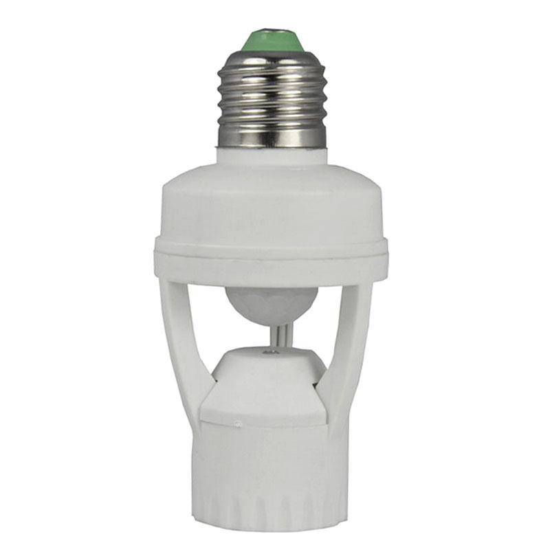Lighting Accessories Ac 110v 220v 360 Degrees Pir Induction Motion Sensor Ir Infrared Human E27 Plug Socket Switch Base Led Bulb Light Lamp Holder
