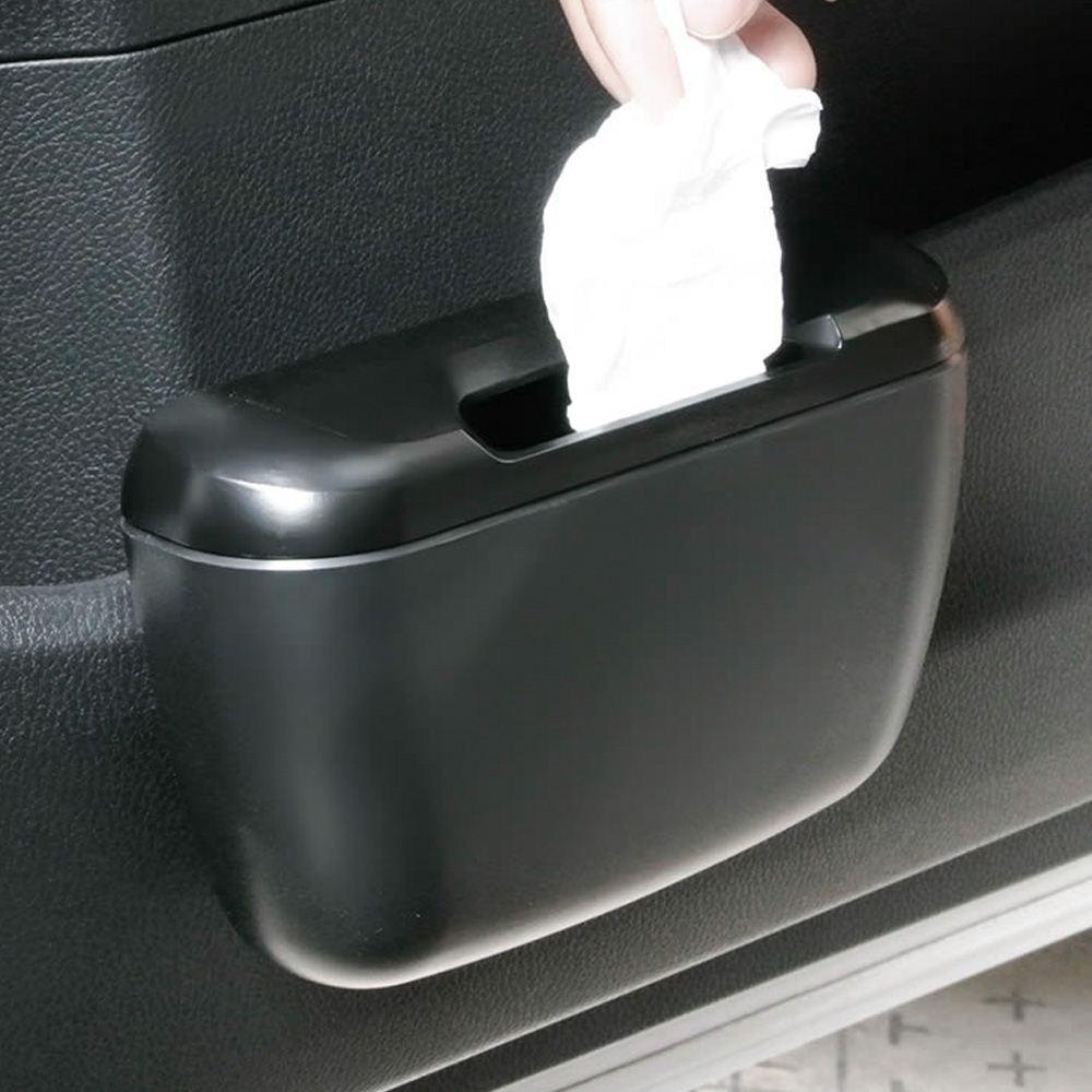 Cestino della spazzatura della spazzatura Scatola della spazzatura automatica Pattumiera della spazzatura Organizer auto Accessori auto Set di contenitori la schiena Contenitore la spazzatura Can secchio