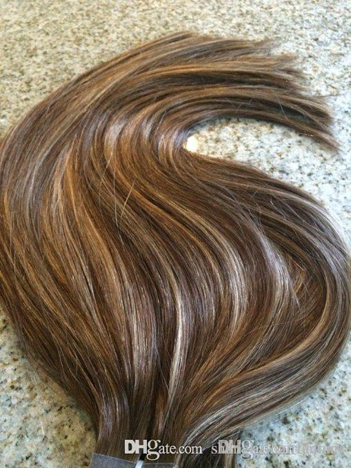 Hlhair 300 Gram Highlight 27 Mix Color 3 And Color 3 Dark Brown