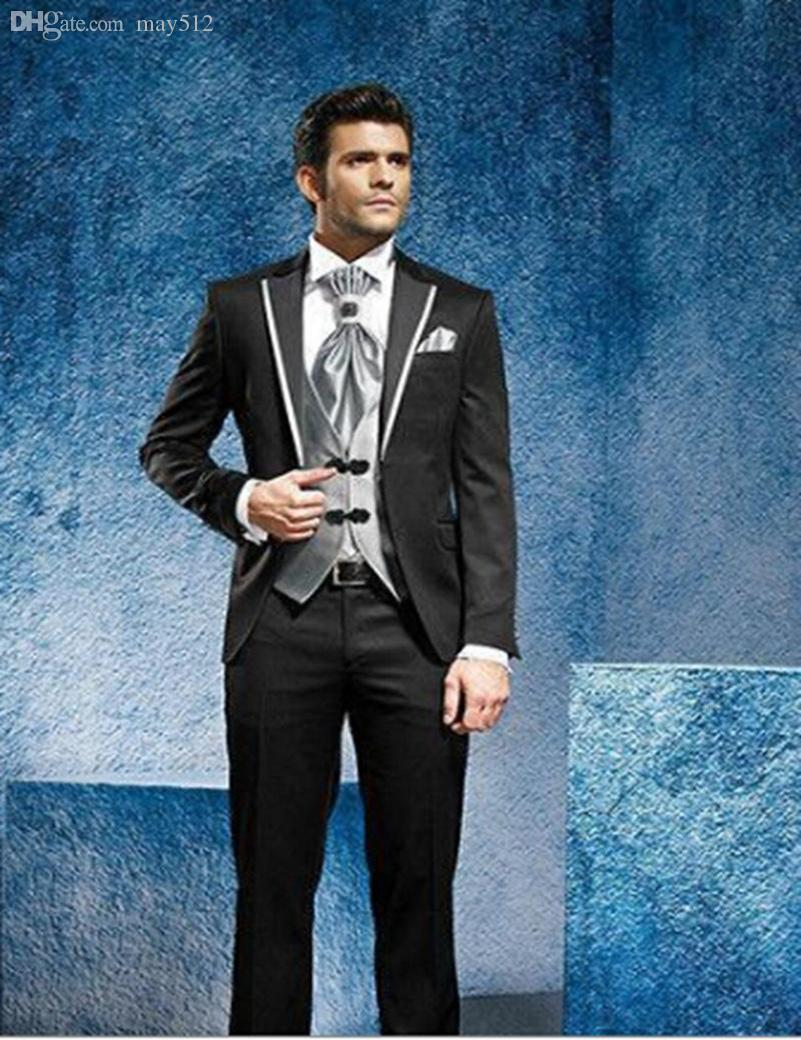 2018 Wholesale 2016 Luxury Men Suits Groomsmen Suit Ailored Wedding ...