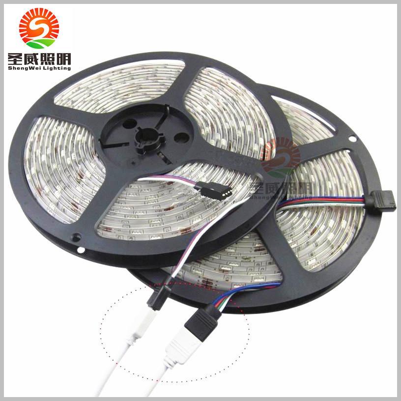 Best Price !!! CE&RoHs Flexible Led Strip Light Stripe RGB SMD 5050 300Leds 5m Waterproof + 44Keys IR Remote Controller+ Power Adapter