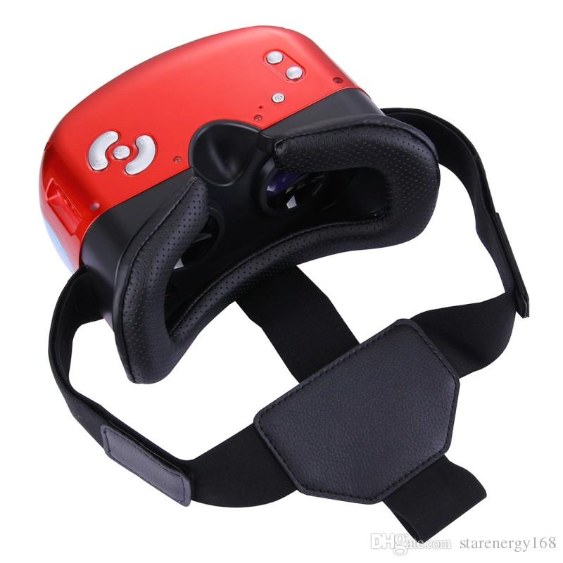 All in one VR headsets Virtual Reality Glasses Wifi Bluetooth Android 5.1 Mobile 3D Cinema VR Box Head Mount 3D Movie Game Glasses B-XY