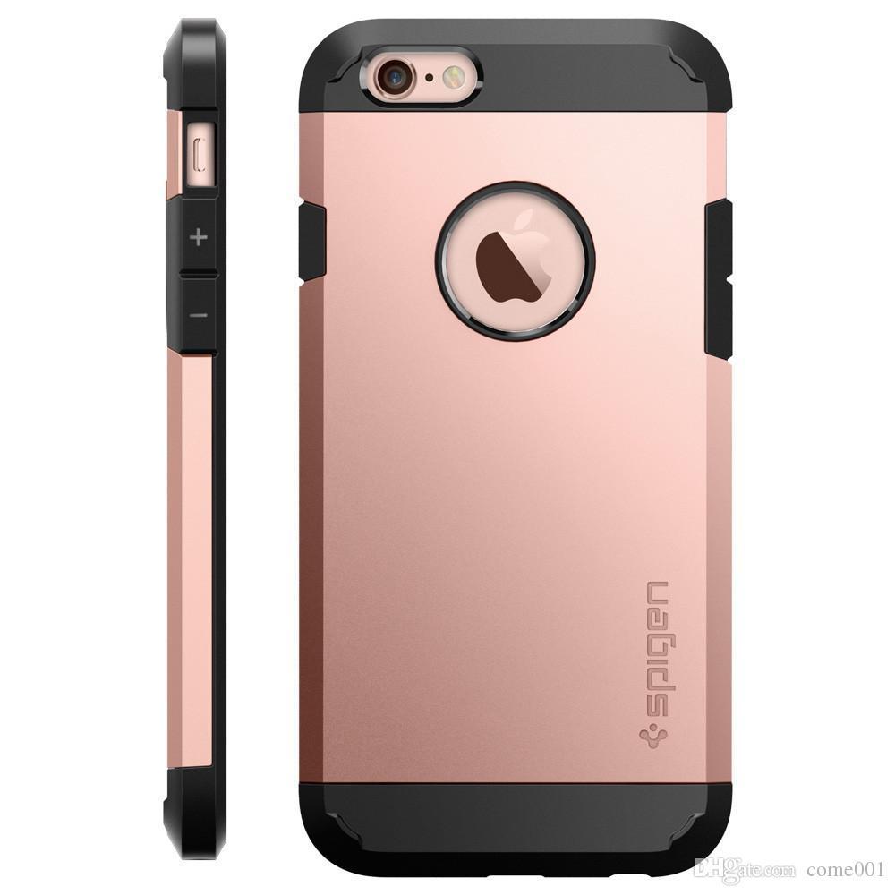 Для Samsung S8 PLUS SGP Броня Чехол Для iphone x / xs xr max 8 7 6 6 s плюс 5 Samsung S8 S8plus ТПУ ПК Двухслойная крышка сотового телефона Чехол OPP