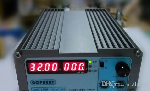 by DHL the new CPS-3205 Compact Mini Variable Adjustable DC Power Supply 0-32V 0-5A AC110-240V