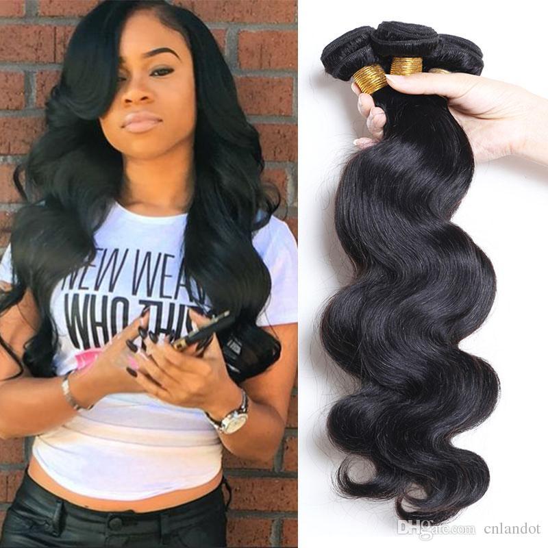 Peruvian Indian Malaysian Cambodian Brazilian Body Wave Hair Weave