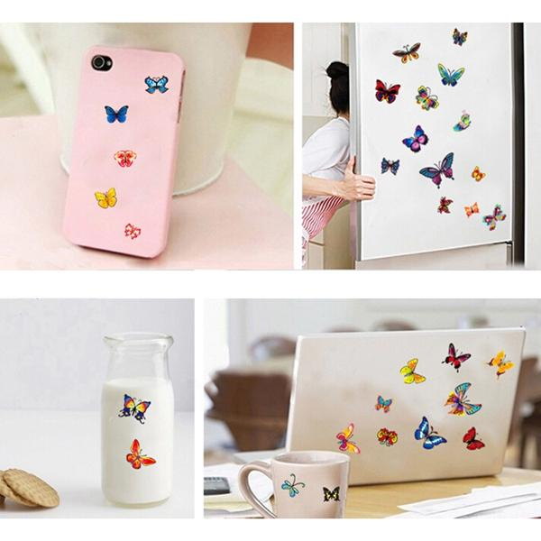 New Arrvial!! DIY 42 Colourful Butterflies Wall Stickers Removable Decal Home Kids Decor Art Excellent Quality