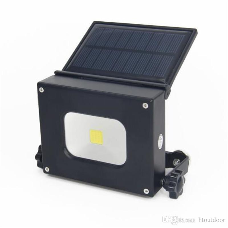 100W Solar LED Work Flash Light Outdoor Camping Torch Lamps USB Charging Bank