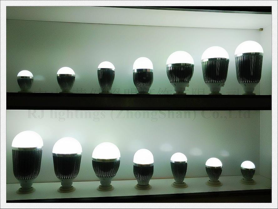 Aluminium PMMA-Qualität SMD5730 LED-Glühlampe LED-Glühlampe 3W 5W 7W 9W 12W 15W 18W AC85-265V E27 CE ROHS