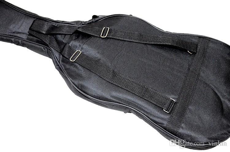 Individualität abriebfest Schulterriemen verdicken Bass E-Gitarre Tasche Gitarre Teile Musikinstrumente