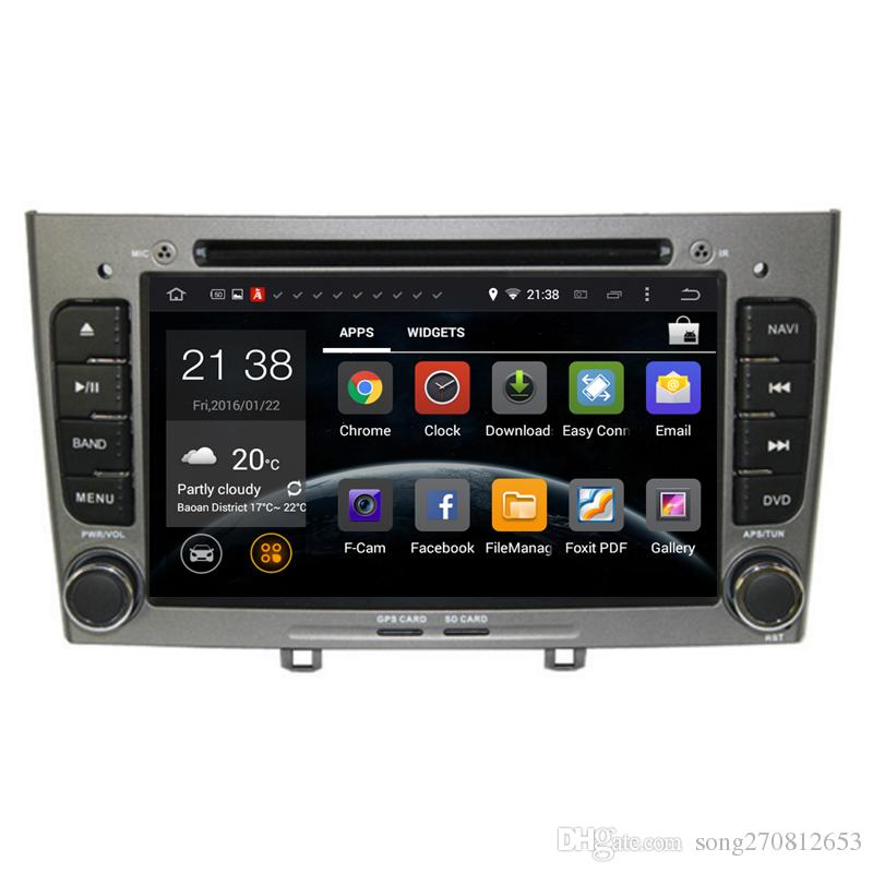 car dvd player android 6 0 for peugeot 308 308sw with 3g host radio gps navigation rds buetooth. Black Bedroom Furniture Sets. Home Design Ideas