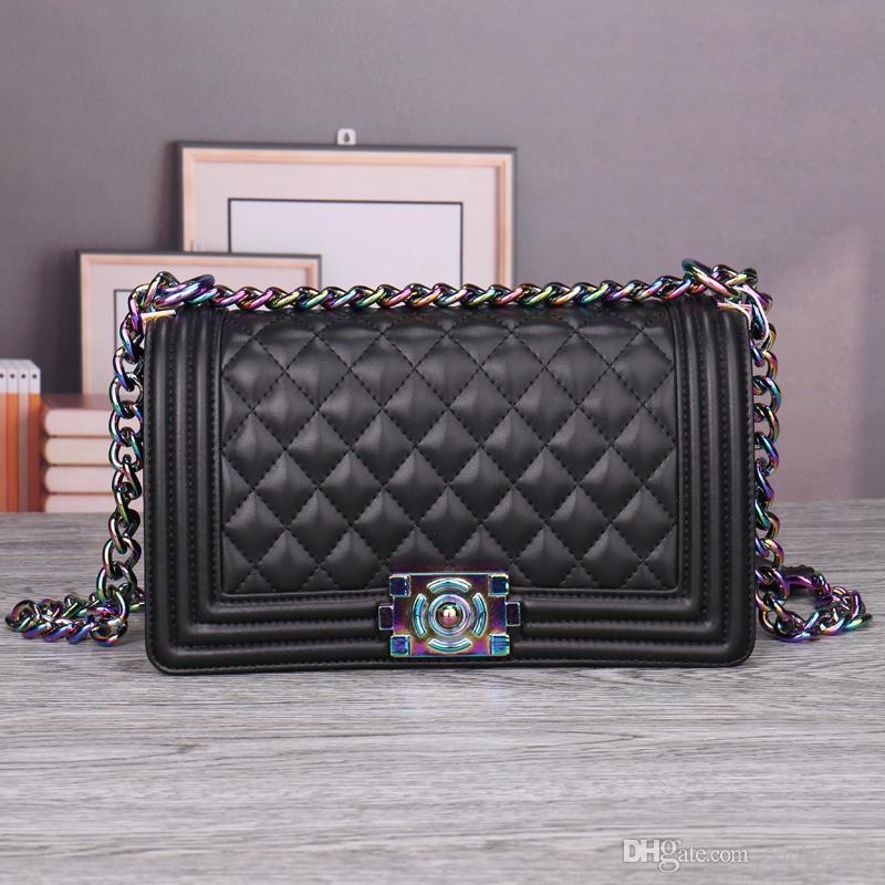 Umhängetasche Frau Marke designer dame handtasche luxus echtem leder top qualität 2017 neue mode förderung verkauf rabatt
