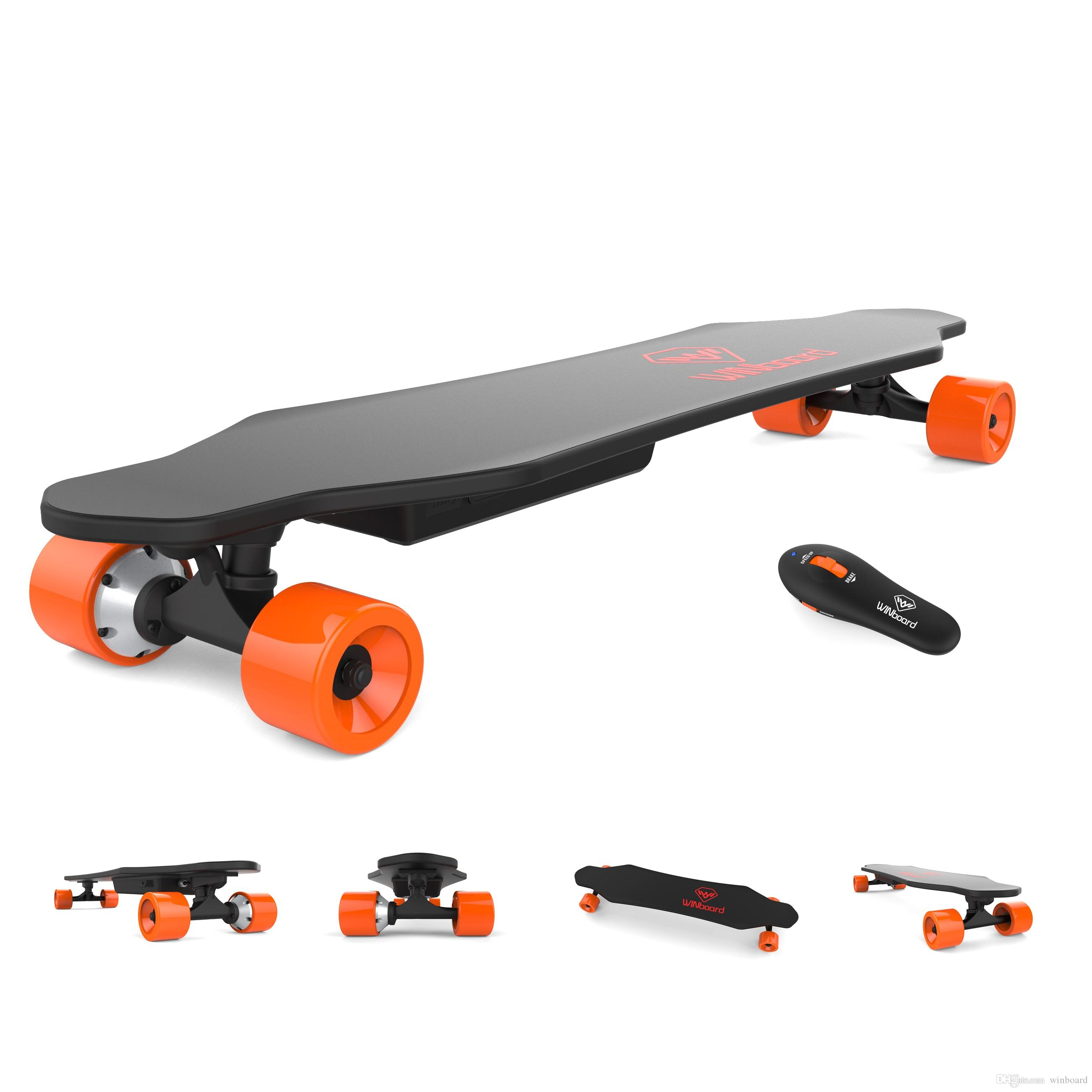 Remote Control Skateboard >> 2019 Winboard W1 Wireless Remote Control 4 Wheels Boosted Board