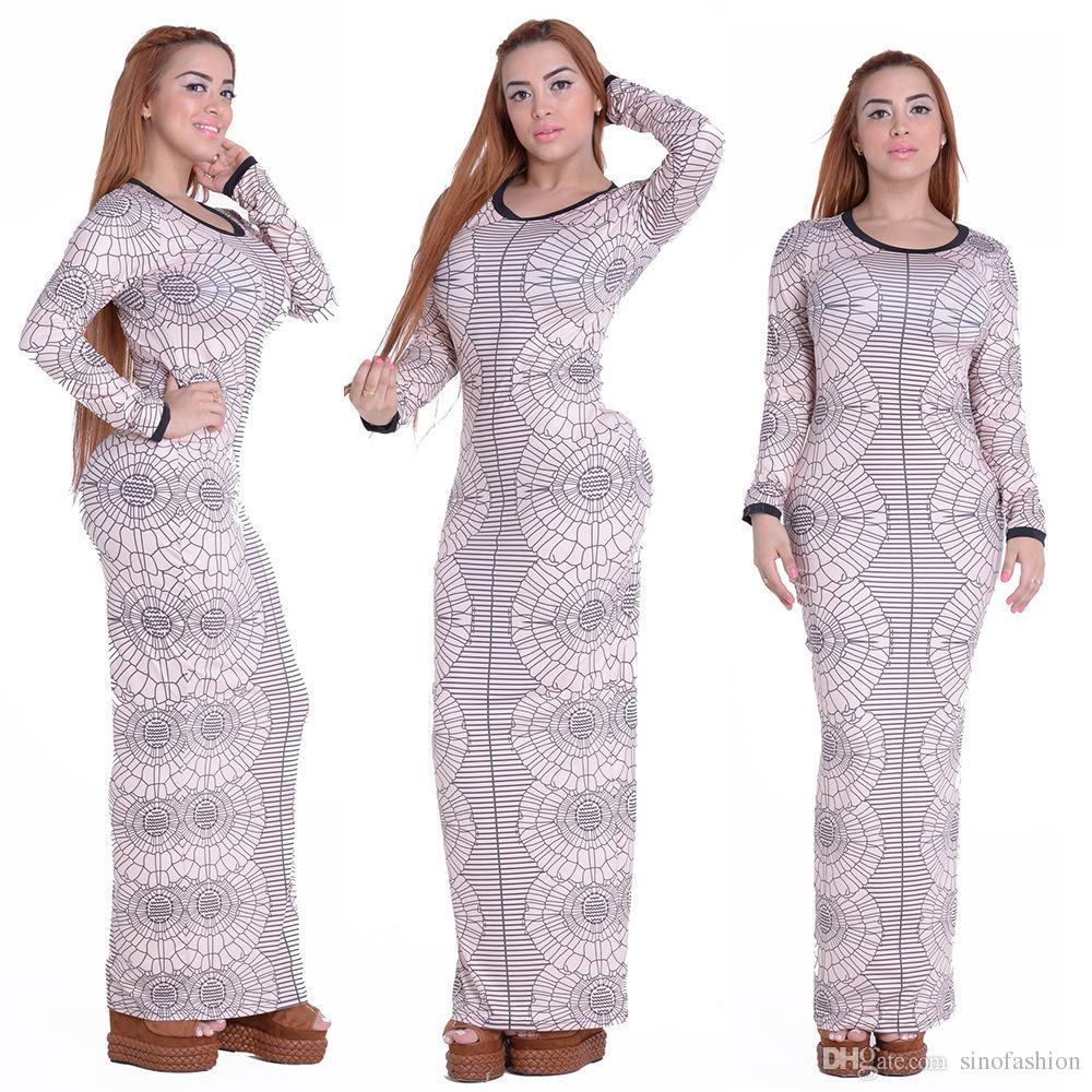 2016 New Autumn Fashion Slim Tight Stretchy Dress Women Sexy ...