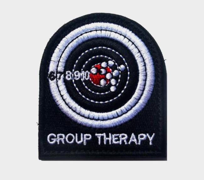 VP-103 2016 Embroidered patches The Tactical US Made Group Therapy Combat Army Morale badges Hook/loop Patch badge sew on patch