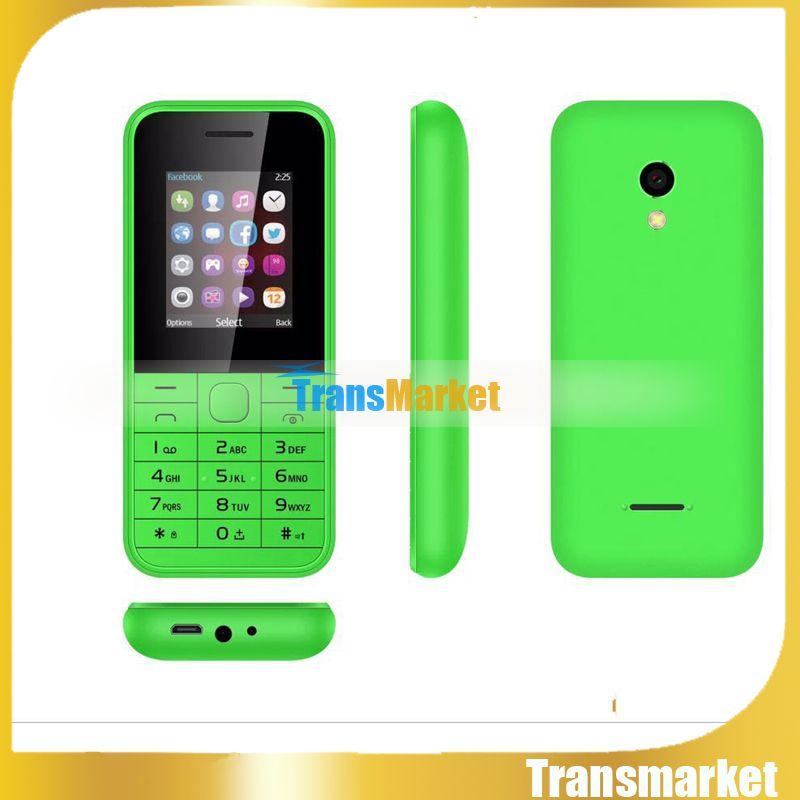 "Unlocked GSM Cheap phone Hot mini225 single core 1.8"" TFT Dual SIM russian spanish Portuguese Mobile Phone Basic Cheap Factory Directly"