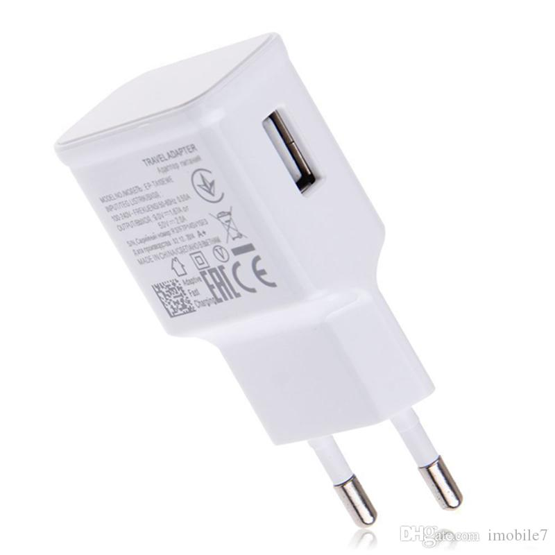 2A AC Wall Charger Adaptive FAST Charging For Samsung Galaxy Note 4 5 S6 edge +