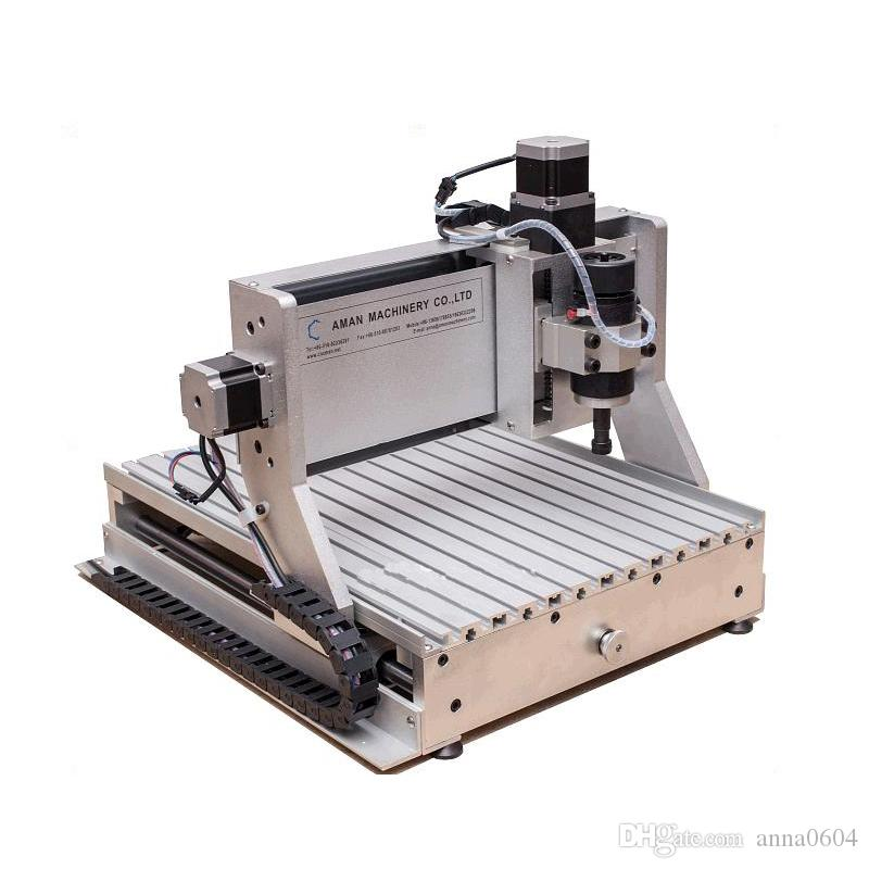 3040 800W 4 axis multifunctional milling router cnc machines for jewelry  cutting/ hobby/ carving cnc metal wood aluminum engraving machine