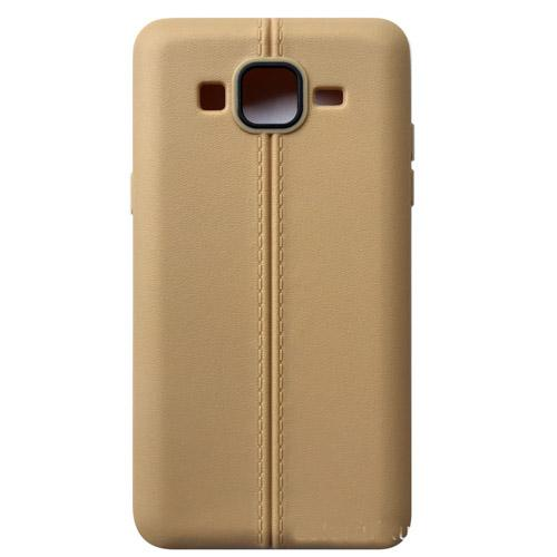 fashion Ultrathin line TPU Soft PU leather matte case cover skin for Samsung Galaxy On5 G5500 G550 cheap case