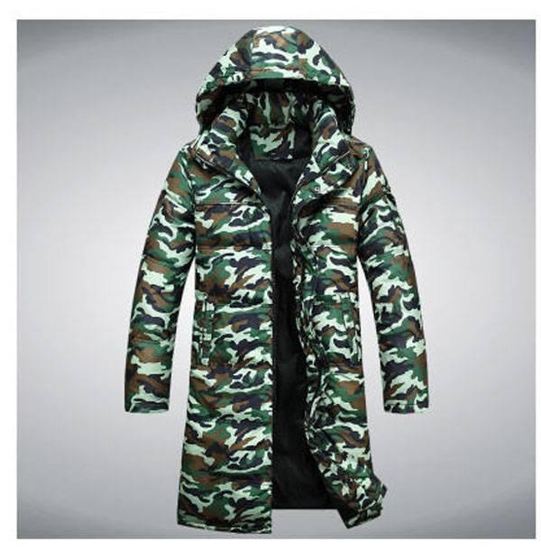 c9c8becce687b 2019 Wholesale Men Winter Camouflage Jacket Man Leisure Long Section Down  Coat Outwear Clothes Casual Jacket Down & Parkas S710 From Xiatian8, ...