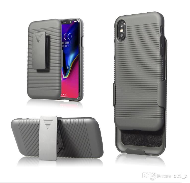separation shoes e2f9f cb313 2 In 1 For Iphone X Case Swivel Belt Clip Hybrid Holster Stand Phone Cases  For Iphone X 6 7 8 Plus Otter Cell Phone Cases Personalized Cell Phone Case  ...