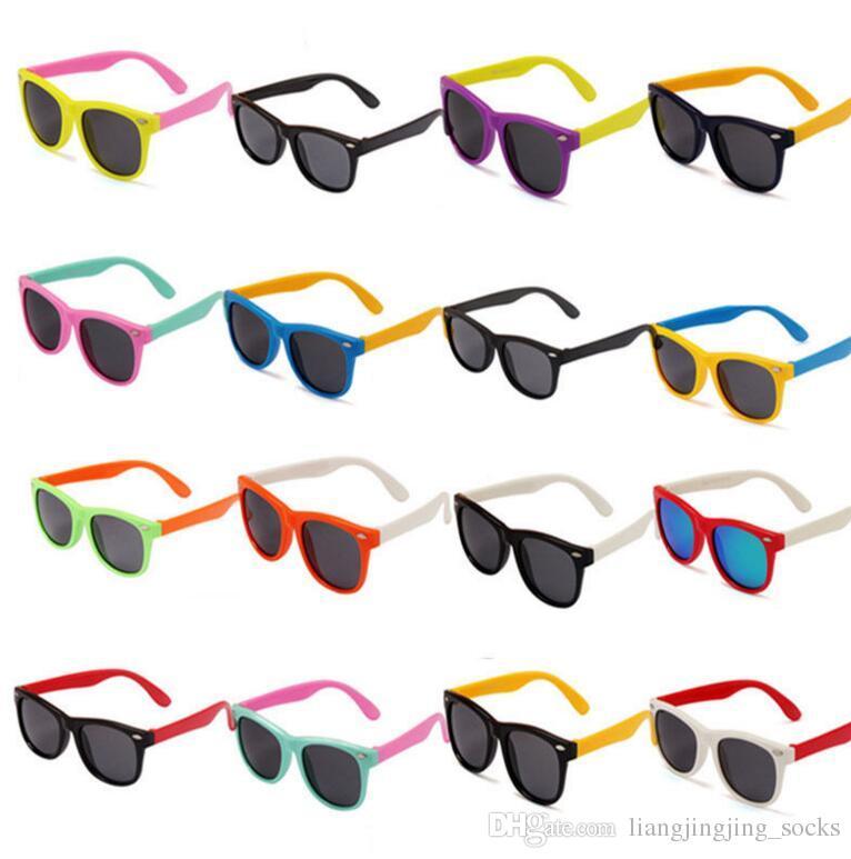 dd5c1851f9 Kids Sunglasses Polarized Sunglasses Child Baby Safety Coating Sun Glasses  Eyewear Shades Infant Oculos Kids Outdoor Sunglasses KKA3338 Polarised  Sunglasses ...
