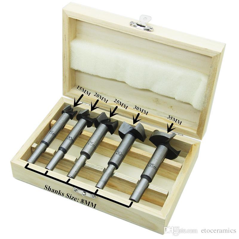 Grosshandel Forstner Holzbohrer Set Lochsage Cutter Holzwerkzeuge Mit