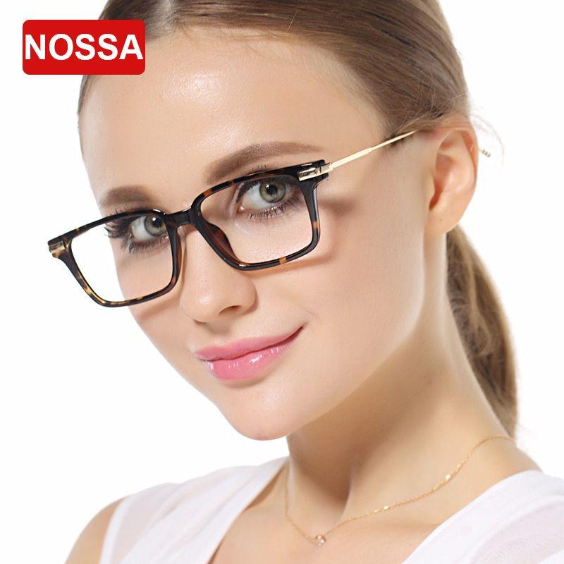 2018 Wholesale Nossa Fashion Big Frame Eyeglasses Tr90 Ultral Light ...