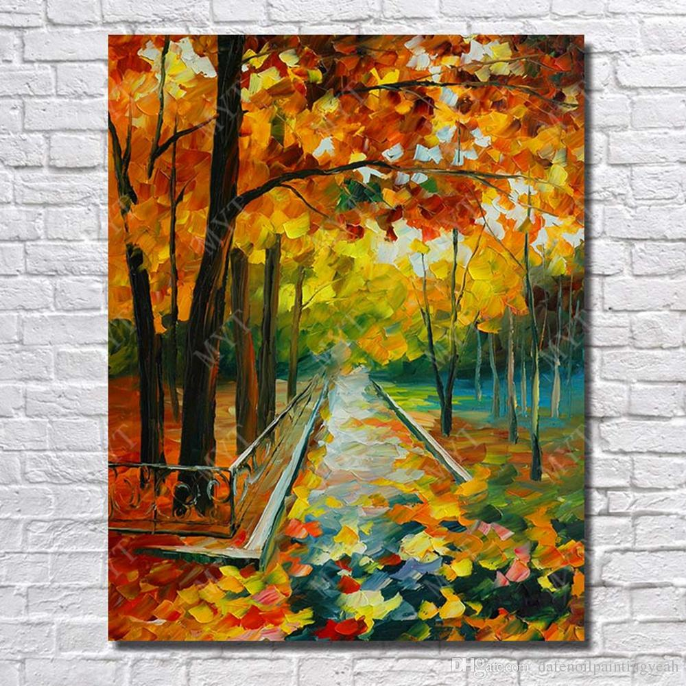 7965a4970 2019 Chinese Landscape Wall Art Oil Painting On Canvas Hand Painted Modern  Picture Set No Framed From Dafenoilpaintingyeah, $14.44   DHgate.Com