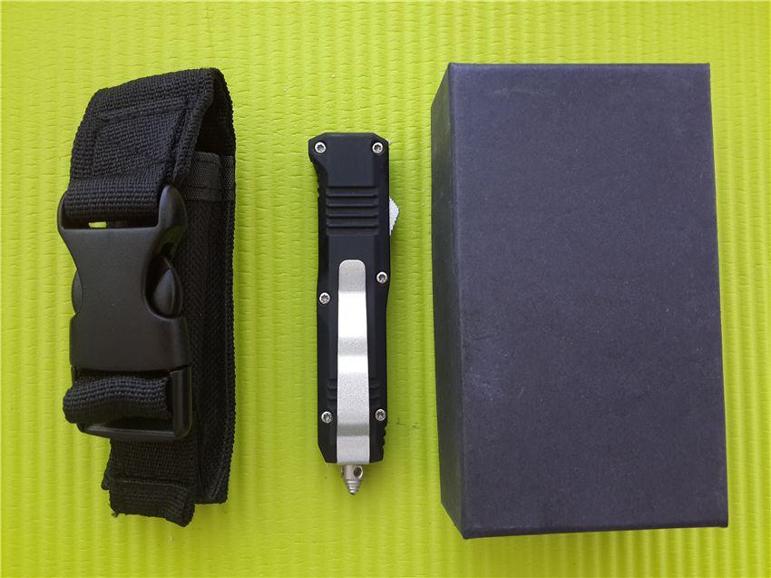 Ножи BM C07 HK mini D / A AUTO 440 лезвие из нержавеющей стали Карманный нож с нейлоновой оболочкой и коробкой A07 616 A161
