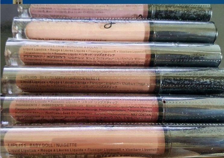 i di lunga durata Lucidalabbra NYX Lip Lingerie Rossetti liquidi opachi Marche Rossetto impermeabile Trucco lucido labbra nude