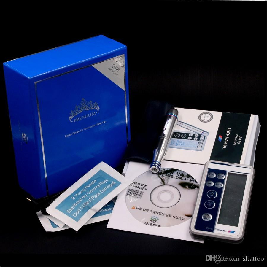 The Best Quality Professional Digital Power Supply With Permanent Makeup Tattoo Machine Beauty Machine Kit /Makeup Machine Cartridge Needles