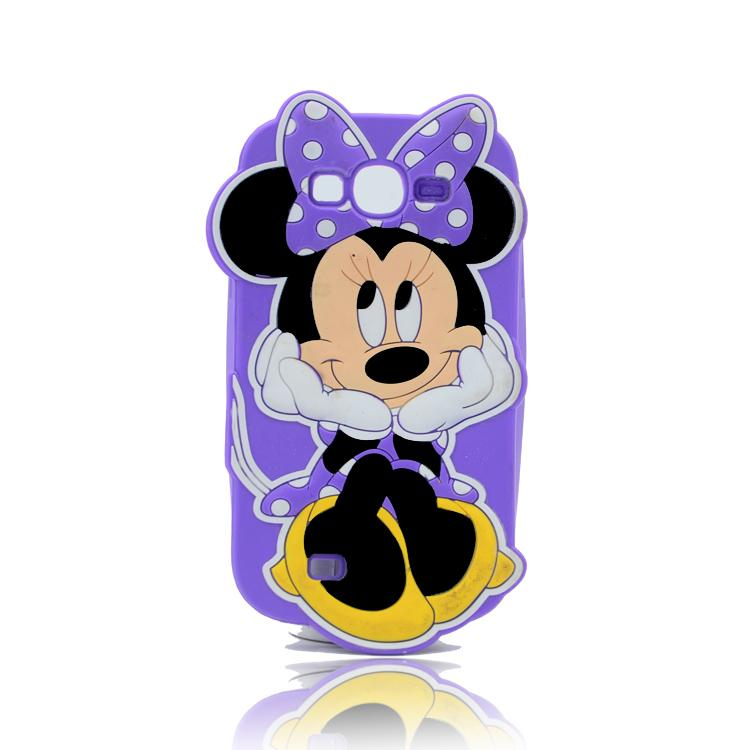 Iphone 6G 6s artı Minnie Soft Silicon for iphone 5G Cep Telefonu Kapağı Çizgi Film Samsung S6 J5 J7 Cep Telefonu Aksesuarları