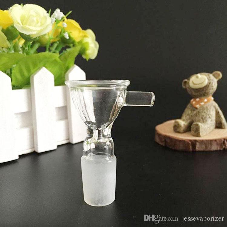 높은 품질의 새로운 봉지 액세서리 그릇 조인트 유리 버블 러 애쉬 포수 18.8mm 및 유리 봉수 물 파이프 ODM