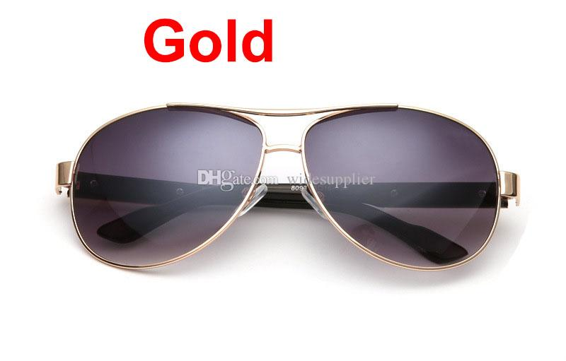International explosion classic British fashion toad Brand Fan glasses Metal Sunglasses for men and women sunglasses BY 8093