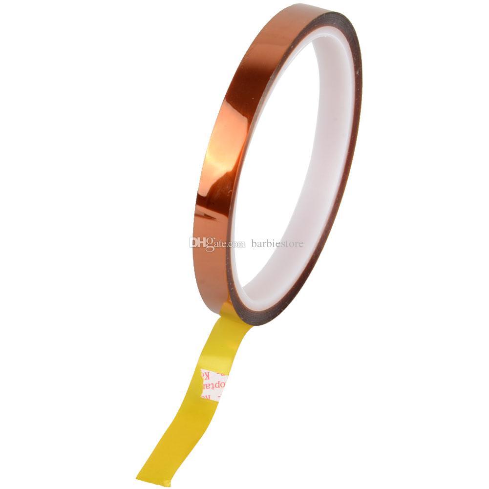 KAPTON TAPE POLYIMIDE résistant à la chaleur haute température haute température 25mm, 50mm, 10mm, 20mm, 30m B00137 Bard