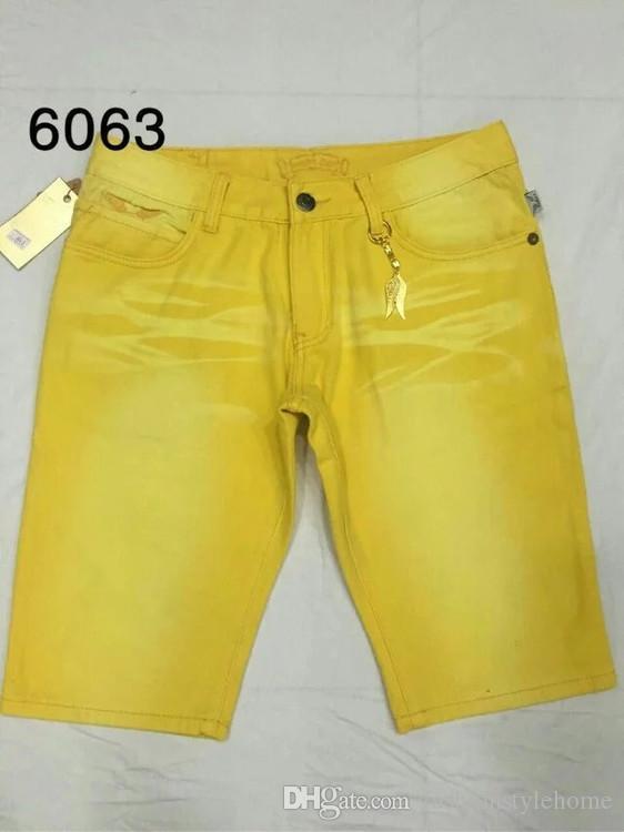Famous Tide Mens Moda Robin Jeans Estate Robin Short Jeans Pantaloni Rock Revival Religion Jeans uomo Profumo Designer