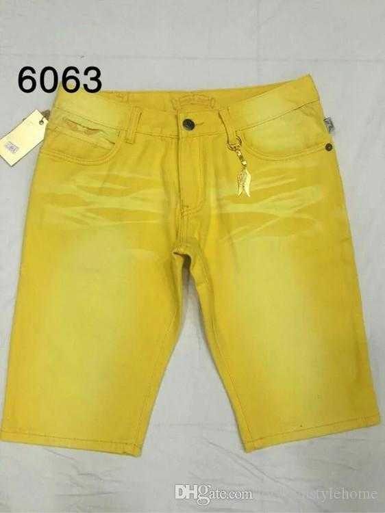 Fide Tide Mens Moda robin Jeans Summer Robin Pantalones Vaqueros Cortos Rock Revival Religión Jeans Para Hombre Diseñador Perfume