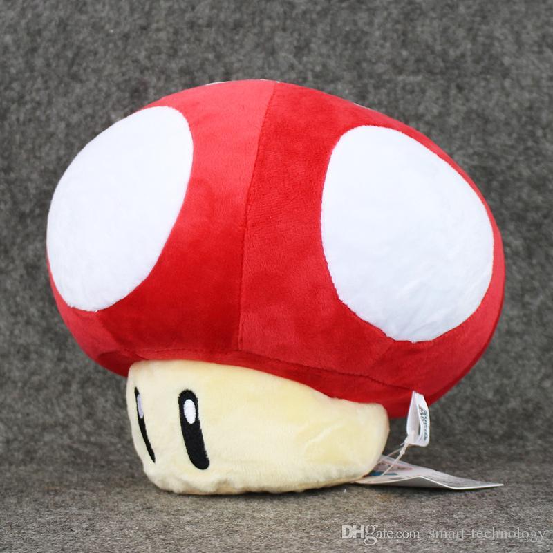 New Brand Stuffed Dolls Plush Toys 20cm Super Mario Mushrooms the best gift for childre