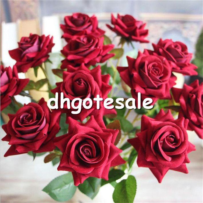 HOT Einzelschaft Valvet Rose 50 cm / 19,69