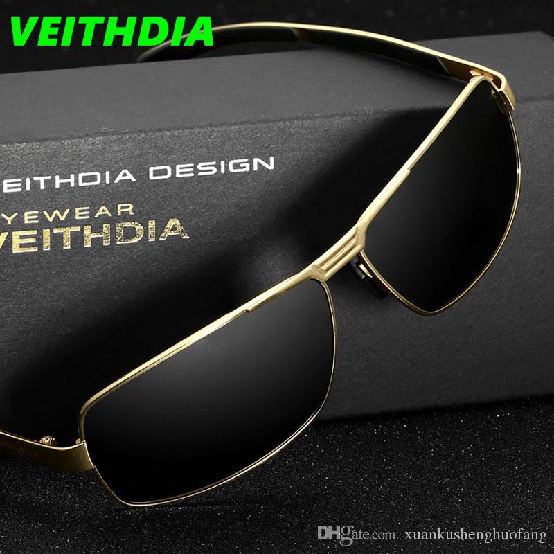 Veithdia UV400 Pilot Men Polarized Sunglasses Brand Logo Design Dazzle  Driving Sports Riding Bicycle Sun Glasses Goggles Aquare 2017 Locs  Sunglasses ... 1c2e114686