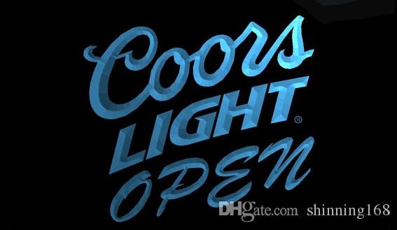 Compre ls710 b coors light beer open bar neon light signg a compre ls710 b coors light beer open bar neon light signg a 1099 del shinning168 dhgate aloadofball Images