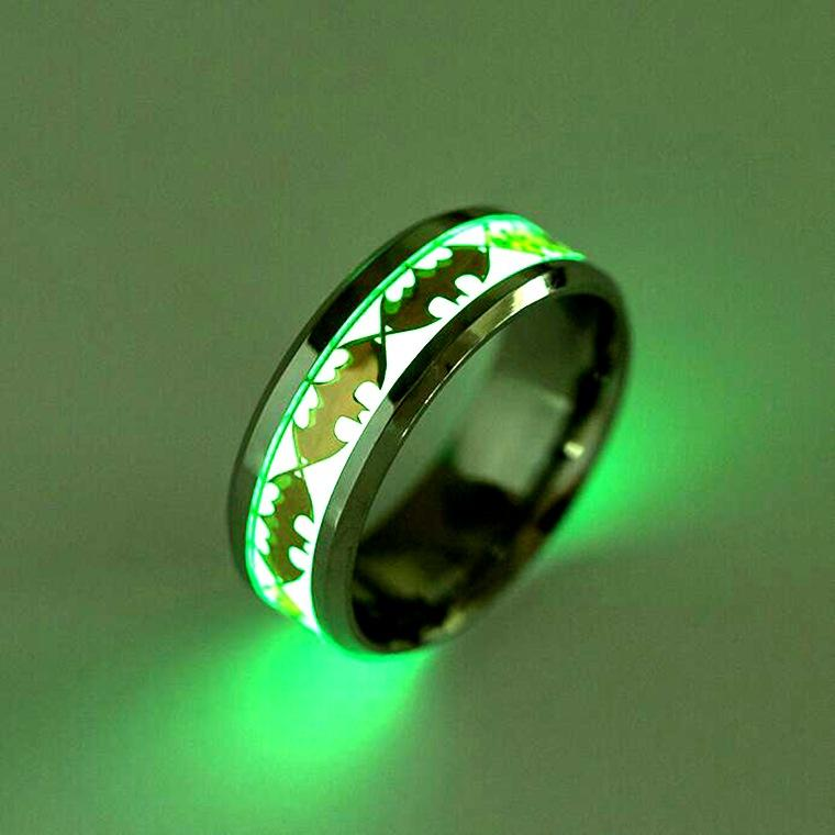 Glow Wedding Ring
