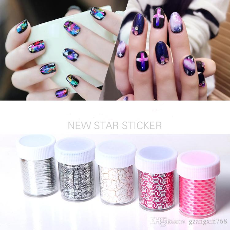 Nail Transfer Foil Nail Polish Art Designs 3d Nail Art Stickers Nail