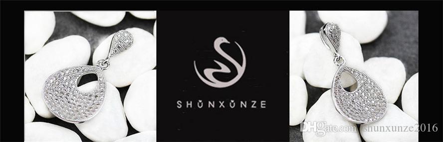 Rhodium-plattierte Charm-Anhänger aus Kupfer Weiße Zirkonia Edle Großzügige MN3216 Rave-Bewertungen Erstklassige Produkte Weiterempfehlen Promotion Casual