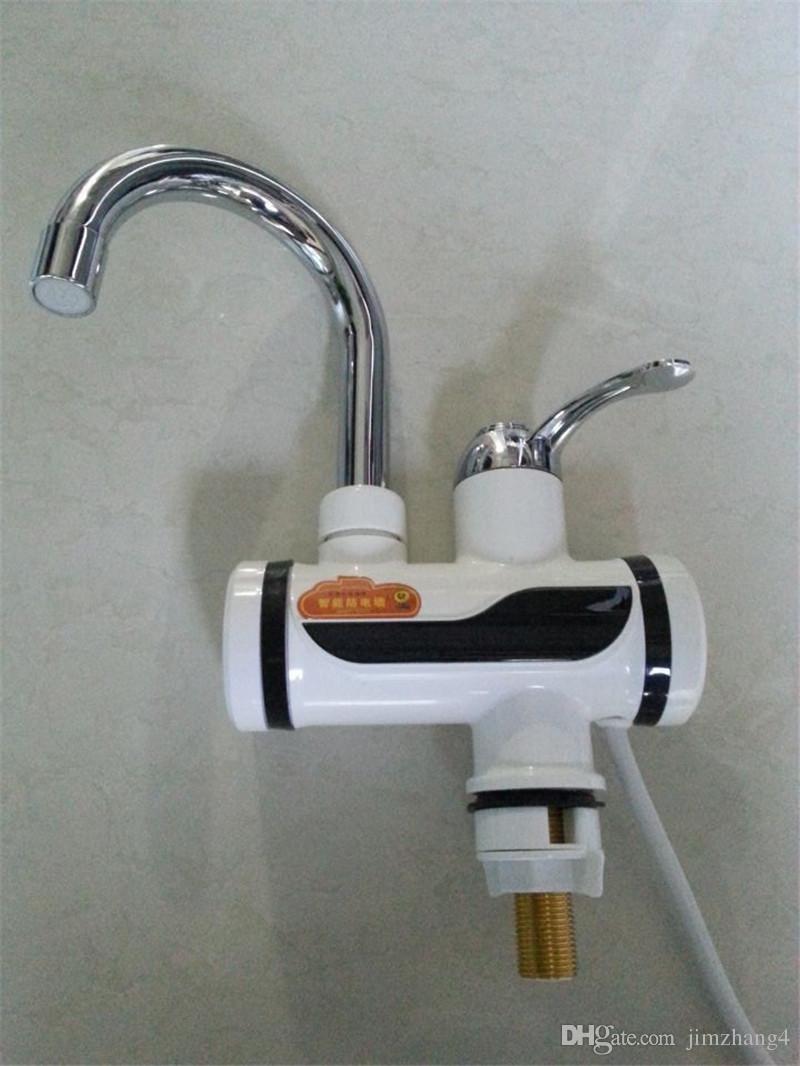 acheter zbd3000w 19 livraison gratuite haute qualit voyant lumineux eau chaude instantane robinet lectrique sans rservoir chauffe eau de robinet de