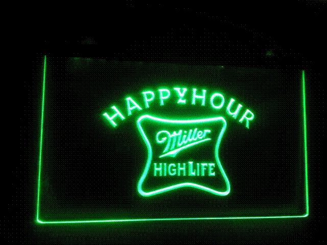 2018 b 53 miller high life happy hour bar pub led neon light sign 2018 b 53 miller high life happy hour bar pub led neon light sign cheap sign red from yuankun8 3739 dhgate aloadofball Choice Image
