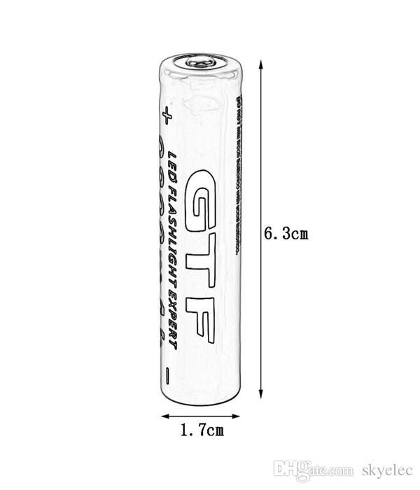 بطارية قابلة للشحن 4 قطع 3.7 فولت 18650 9800 مللي أمبير لى مضيا الشعلة SY قدرة كبيرة قوية ضوء المصباح خاص بيع أصيلة