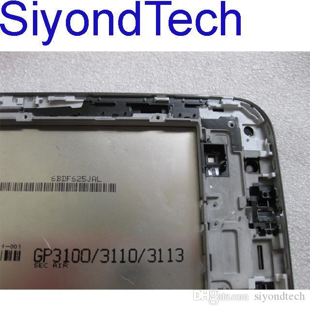 Frete Grátis !!! Original Nova Tela de Toque LCD Screen Touch Screen Digitador Assembléia Para 7 polegadas Samsung Galaxy Tab P3100