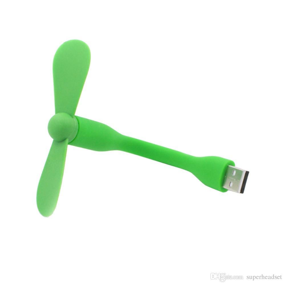 Симпатичные портативный гибкие USB вентилятор гибкая USB съемные гаджеты для ПК, для ноутбуков