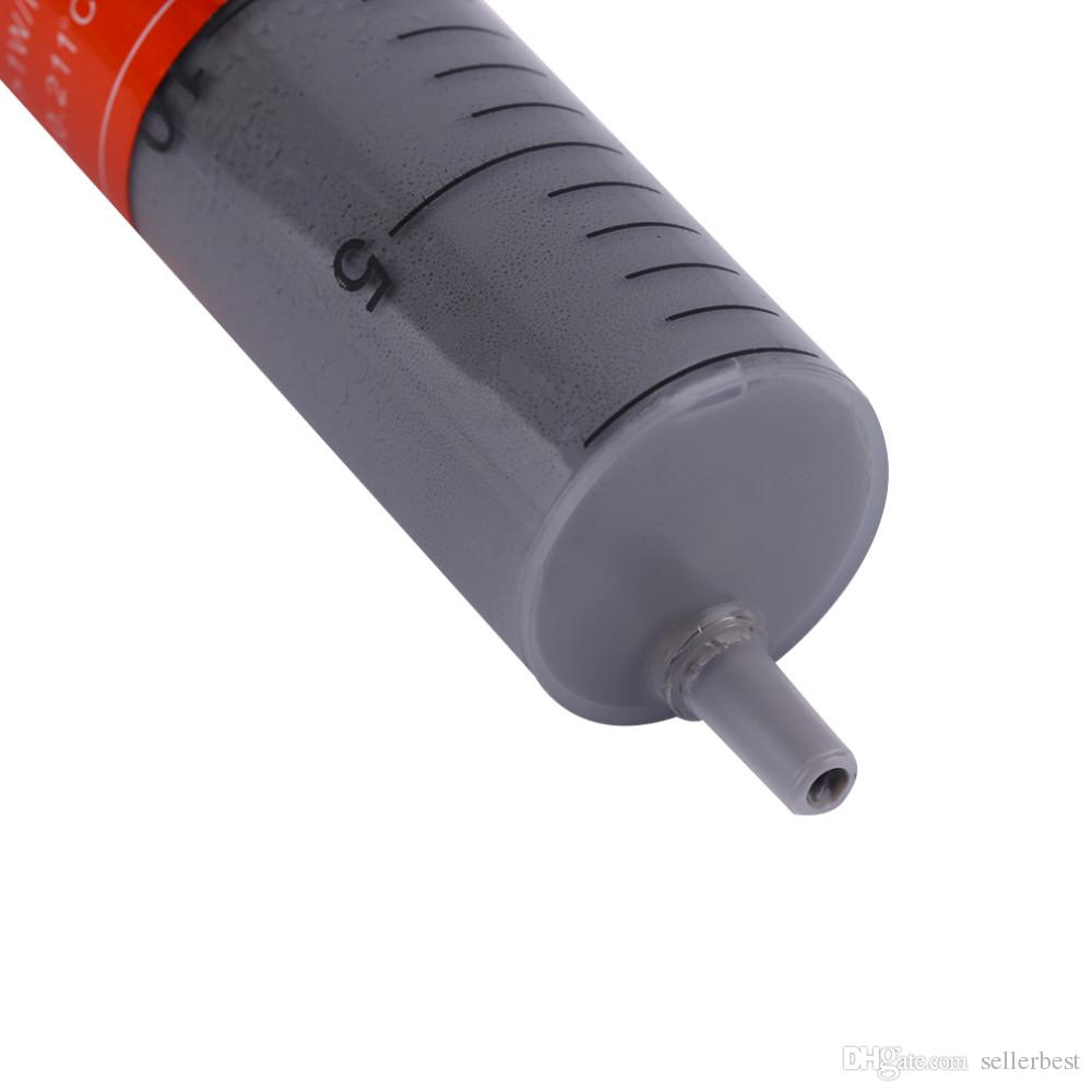 30g HT-GY260 Grau Spritzenfett CPU Wärmeleitpaste Rohr Leitpaste Großhandel
